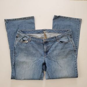 Old Navy The Diva Jeans 22 Plus Long Boot Cut